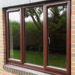 Rosewood window frames